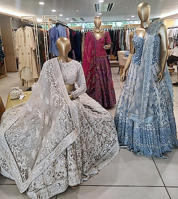 Festive and Bridal collection by Jade at Deval The Multi Designer Store Today and Tomorrow!!! #devalstore #ahmedabad #designerstore #exclusivepreview #festive #festivewear #bridalwear #jade #designercollection #womenswear #clothingstore #gujarat #bridals #weddingcollection #weddingwear