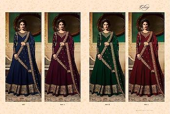 Top :- Silk Jacquard And Embroidery Work  Bottom & Inner Pure Santoon  Dupatta :- Pure Georgette Catlog pisces :- 04 Whatsapp no. 9978610114 gulmoharfashion000@gmail.com