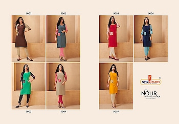 FABRIC :- rayon print with plain rayon And Fancy Kurti  SIZES :- M, L, XL ,2XL&3xl  Catlog pisces :- 07  Whatsapp no. 9978610114 gulmoharfashion000@gmail.com