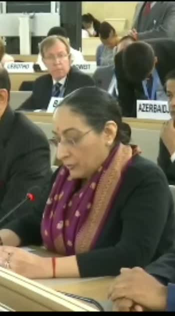 Secy (East) MEA at UNHRC: A delegation has given a running commentary with offensive rhetoric of false allegations & concocted charges against my country. World is aware that this narrative comes from epicentre of global terrorism, where ring leaders were sheltered for yrs