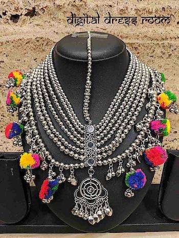 Pompoms Mathapati/Mang Tikka for Women/Girls❤ Item Code:(🔎14NMP03-560) #Navratri #MangTikka #MathaPatti #Garba #Dandiya #SilverJewellery #Pompoms #Mathapati #Borla #Banjara #Jewellery #CostumeJewellery #FashionJewellery #ImitationJewellery #Mangtika #BodyJewellery #weddingjewellery #jewelry #bridalmaangtikka #Navratra #navratriaccessories #mangalsutra #gujarati #gujaratifestival #southindianjewellery #navratricollection   #foreheadjewelry #indianwedding #indianbride #bridaljewelry