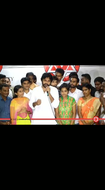 "#Janasena cheif #Pawankalyan donated laptops & 1Lakh rupees to students to help their research true ""Pawan Kalyan learning centre For Human Excellence"""