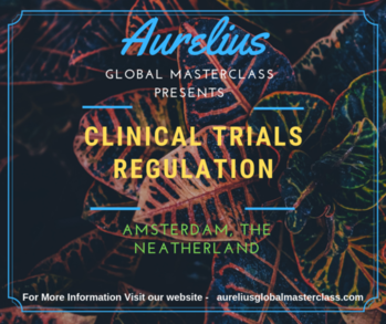 Clinical Trials Training by Aurelius Global Masterclasses. Yes it is happening, The best masterclass on Clinical trials in Amsterdam is going to start soon. Overview clinical trials have increased dramatically in recent years. In this masterclass learn how evolutions in technology and risk management process offer new opportunities to increase efficiency and focus on relevant activities and clinical trial protocols. Place Amsterdam, The Neatherlands https://aureliusglobalmasterclass.com/events/2nd-edition-clinical-trial-regulations-with-ich-gcp-e6-r2-workshop/