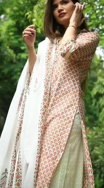 indian ootd #fashionquotient #fashionvideo #ethnicwear #indianoutfit #rangolichannel #rangoli
