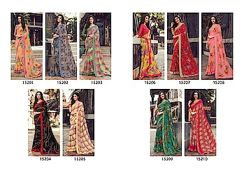 Buy this Latest Beautiful Saree  Mintorsi Designer sarees collection    Fabric :- Heavy Weightless Georgette with satin lace and satin blouse  100% Quality Products...  Whatsapp no. 9978610114 gulmoharfashion000@gmail.com
