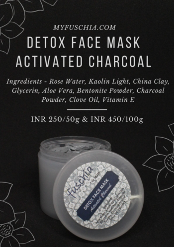 Exfoliate Naturally your Skin with Fuschia Detox Face Mask - Activated Charcoal Properties : Anti-Blemish, Anti-Inflammatory  Shop Now: MYFUSCHIA.COM  #fuschia #skincare #beautyproducts #beautyblender #gorgeous #naturalbeauty #lookbeautiful #beautybasics #naturalbeautyisthebest #cleanbeauty #greenbeauty #naturalskincare #naturalbond #naturalhandmadeskincare #charcoal #skincaretreatments