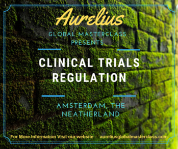 Clinical Trials Aurelius Global masterclasses is providing In house training on Clinical Trials in Europe. Overview  clinical trials have increased dramatically in recent years. In this masterclass learn how evolutions in technology and risk management process offer new opportunities to increase clinical trials protocols.  Venue Amsterdam, The Neatherlands https://aureliusglobalmasterclass.com/events/2nd-edition-clinical-trial-regulations-with-ich-gcp-e6-r2-workshop/