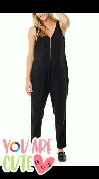 Stylish Maternity Jumpsuit 😍😘😍 Buy @ comment link>>>