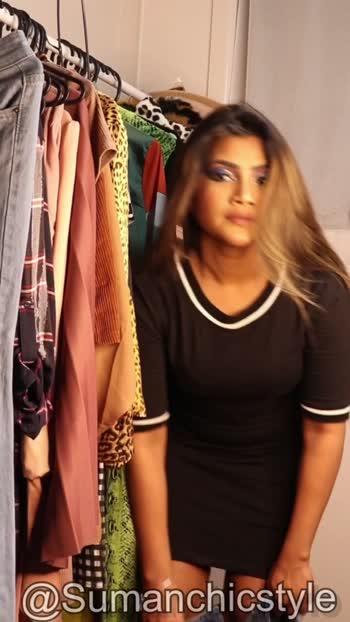 3 Ways to Style ur basic dress #fashionblogger #outfitoftheday @roposotalks