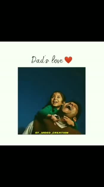 #fatherdaughtertime #fatherslove #fatherslove #fatherday #fathersday-i-love-you-dad #love_roposo @st_video_creation follow me on insta