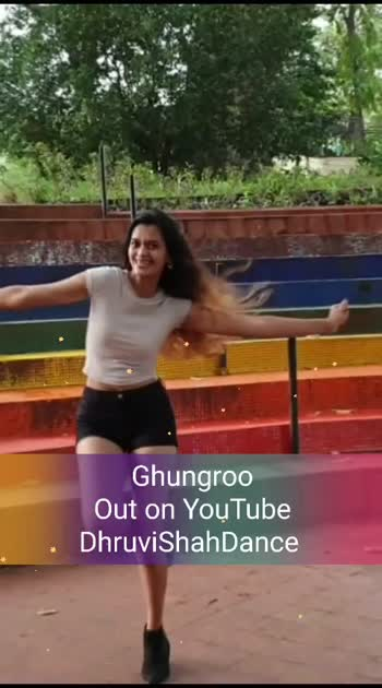 #ghungroo out on my #youtubechannel -DhruviShahDance  #watchnow #fusion #dance  #war #hrithikroshan