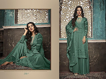 Designer Partywear Embroidery Palazzo Suits ♥ Price:- 2726/- For More Similar Visit 👉 https://bit.ly/2ILiWRZ For Order What-app us (+91) 8097909000 * * * * #salwar #salwarsuits #dress #dresses #longsuits #suitsonline #embroidered #onlinefloralsuit #floral #fashion #style #palazzosuits #shararastylesuits #classy #designer #partywear #partywearsuits #exclusives