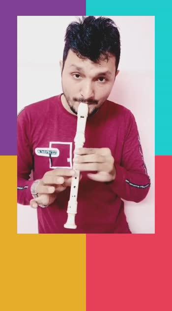 #mujhko-hui-na-khabar from #diltopagalhai #flute #roposo #risingstar #roposo-rising-star #risingstars #roposo-flute #trending #bollywoodsong #Surat