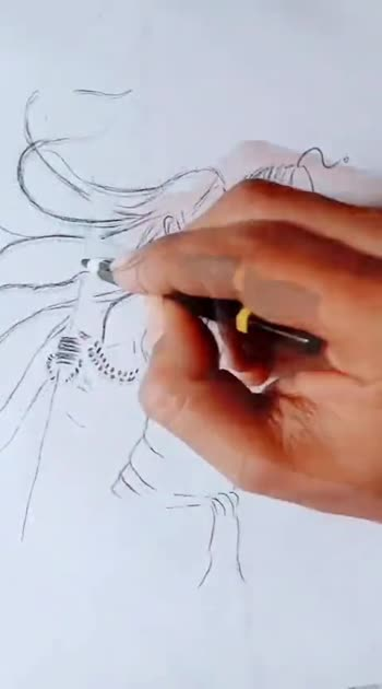 हर हर महादेव...🔥 #sketch #creativespace #creative-channel #art #sketchinglove #pencilsketch #love #mhakal #mahadev #marathi #mimarathi #roposostar #risingstar #artist #abhiraje 👑