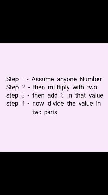Maths trick #maths #tricks