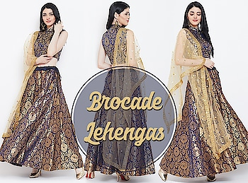 Brocade Lehengas!  https://bit.ly/2u0e2YH  #9rasa #colors #studiorasa #ethnicwear #ethniclook #fusionfashion #online #fashion #like #comment #share #followus #like4like #likeforcomment #like4comment #ss19collection #aw19 #newcollection #newcollection2019 #festivecollection #festiveseason #newarrivals2019 #newseason #brocade #lehenge