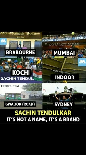 # Sachin pavilion stands