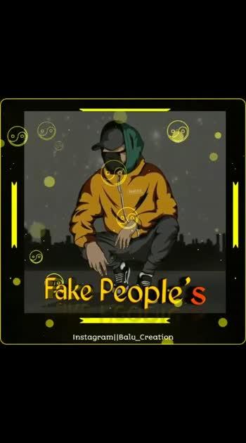 fake peoples fake life