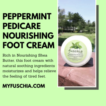 Fuschia's Foot Cream is an effective formula that softens and renews foot skin to prevent cracks and splits. Feet are left feeling noticeably softer and smoother. ORDER ONLINE: MYFUSCHIA.COM  #NaturalSkincare #SkincareTreatment #beautyAddicts #SkincareFreak #Agelock #FootCare #Fuschia #Fuschiabyvkare #NourishingFoots #healthyfeet #Naturaly #NaturalBonds #Pedicare