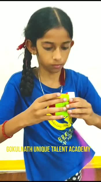 Rubik's cube solved in 48secs with two hula hoops. #wow #roposostars #challenge #hulahoop #rubikcube #guta To learn rubik's cube and lot of variety acts, contact : +91-7338827800