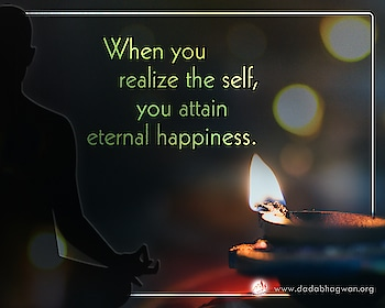 Do you know that until you realize who you really are, everything proves to be transient and temporary? When you realize the Self, you attain eternal happiness.  To read more on: https://www.dadabhagwan.org/self-realization/  #selfrealization #enlightenment #love #spirituality #meditation #spiritualgrowth #higherself #spiritualawakening #wisdom #inspiration #awakening #consciousness #instapic #knowthyself #god #selfawareness #instaquote #guru #selfknowledge #christconsciousness #light #prabhupada #evolution #esoteric #mysticism #lightworker #faith #universe #vaishnavism #bhfyp