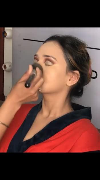 makeup magic 😊 #roposo  #roposobeauty #roposomakeup #makeup #makeupartist #makeupaddict #makeupoftheday