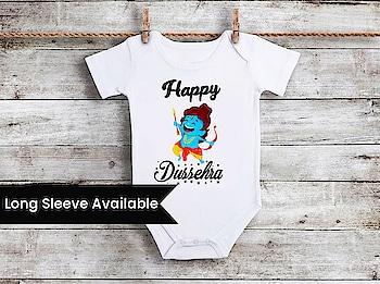 My First Dussehra - Baby Dussehra Onesie / Romper and T-shirts Contact :+918000011699 Shop Now : https://www.pinkblueindia.com/baby-dussehra-onesie.html  #HappyNavratri2019 #FirstDussehraOnesies #BabyDussehraOnesie #littleone #indianfestival #NavratriOnesie #NavratriRomper #NavratriBodysuit #KidsDussehraTshirts #NewbornDussehraOnesie #customisedbabyromper #customisedonesies #customisedtees #worldwideshipping #pinkblueindia