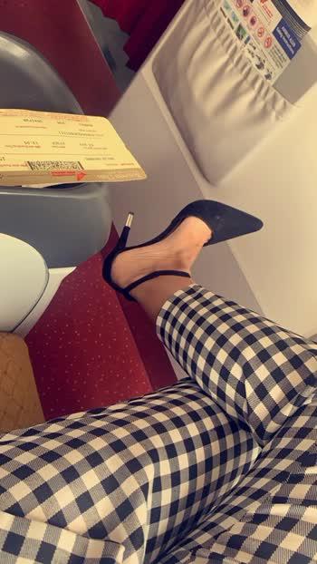 Udaipur here I come ✈️✈️♥️ : : #airportlook #airportfashion #csia #airportstyle #airportfashion #event #eventtime #udaipur #rajasthan #udaipurevent #fashionstarudaipur #mrandmissrajasthan #nexttopmodel #rajasthannexttopmodel #2019  #rajasthannexttopmodel2019 #sakhiyaan #sakhiyaangirl #nehamalik #manindarbuttar #tonykakkar #sahilkhan #pollywood #punjabiactress #punjabi #model #instagram