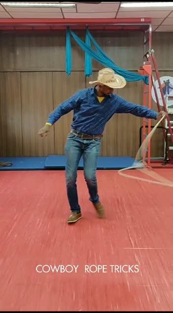 Cowboy Rope tricks🤠 #wow #roposostars #cowboy #tricks #rope