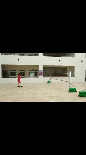JNTU   indoor play....