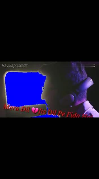 #ek bewafa hai #meradil jis dil pe fida hai #heartbroken #heartbreak #ropopo_beats_channel #ropopso_gud_bye_hart_t @roposocontests @roposotalks @roposotutorial