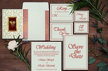 #Customize your #floral #invitations using 123weddingcards.com's awesome #designs or celebrate your big day in style with this beautiful floral #card. SHOP NOW:  https://www.123weddingcards.com/card-detail/IN-1376  #weddingcard #weddinginvite #floralcard #floraldesigns #weddinginvitation #123WeddingCards
