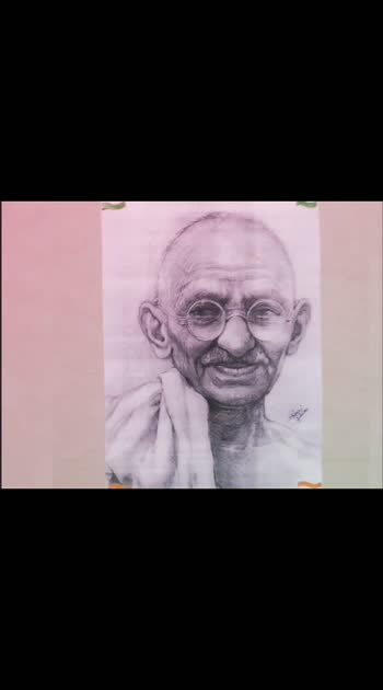 a few lines for Mahatma Gandhiji Happy Gandhi Jayanti 🇮🇳🇮🇳...   #artsbyswami #roposostar #roposo #roposocontest  #gandhiji #gandhiji #gandhijayanti  #sketch #sketchbooks  #sketches  #pencilsketching  #artoftheday  #art  #artist  #artworks_feature  #instaart  #pencilart  #pencildrawing  #pencilsketch  #pencil  #illustration  #sketching  #baapu