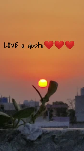 Love u dosto❤️❤️❤️ #freindshipgoals #freindsforever #sunsets_oftheworld #sunset_pics #photography #featurethisvideo #featureme #makemerisingstar