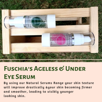 Fuschia Serums have been formulated to address your specific Skin & Hair needs. Silicon & Mineral oil Free. MYFUSCHIA.COM  #NaturalCollection #Fuschia #NaturalSerums #agelessSerums #UnderEyeSerum #NaturalSkincare #BeautyAddict #NaturalBonds #Acne #Antiaging #AntiagingSkincare