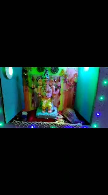HOME MADE ECOfriendly Ganesh ji
