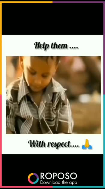 #hearttouchingvideoever #respect #helptheneedy #helpinghands #helpothersavelifes