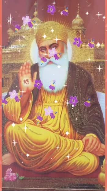 Dhan Shri Guru GRANTH SAHIB  Ji🙏🏻 #flowers #flowers #flowers #flowers #glitter #glitter