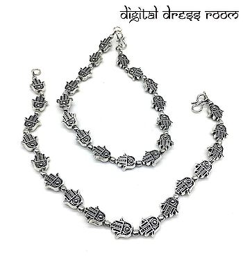 Silver Plated Anklets with Antique Oxidised Silver Beaded Hamsa Anklet Payal ❤ Item Code:(🔎1402NP56-450) Purchase from our website - https://digitaldressroom.com/collections/anklet #anklet #anklets #payal #silver #silveranklets #silverpayal #Designeranklet #Designerpayal #jewellery #germansilveranklets #oxidizedanklets #oxidizedpayal #germananklets #germanpayal #oxidizedjewellery #oxidizedjewelry #artificialjewellery #jewellerylove #indianjewellery #traditionaljewellery #imitationjewellery #indianjewellery #fashionjewellery #bridelwear #brideljewellery #indianwear #mangalsutra #ankletlove #ankletlovers