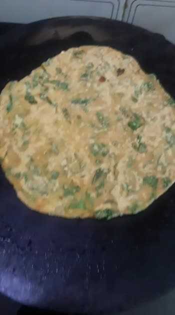 recipe:       Methi ki roti #homecooked  #tasteofindia  #easyrecipes