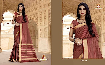 SILLK INDIA PRESENTED IRSAVA SAREE  #designersaree #ethnicwear #indianwear #simplewear #womenswear #officewear #maroonsaree #goldenborder  #weddingwear #womenswear #festivewear to know more details please whats app on 9820936178