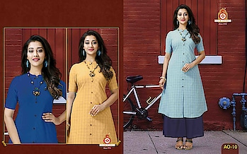 SILK INDIA PRESENTED AROHI KURTIS  #designerkurtis #ethnicwear #onlineshopping #indianwear #simplewear #officewear #threecolouravailable #bluecolor #orangecolor #cgreencolor #festivewear to know more details please whats app on 9820936178