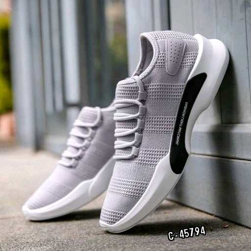 Product Description : #MenSportsShoes #OuterMaterial: #Fly knit Mesh #InnerMaterial: #SkinFriendly Size: 6,7,8,9,10 ( 40,41,42,43,44, ) #SoleColor: #WhiteSole Closure Type :Lace Up Toe Style : Round Toe Sole: Super Rubberized EVA Sole #Fashionable & comfortable which add to your style quotient #Occasion: #Casualwear, #gym, #running, #sports, wear #WashCare: #HandWash Dispatch: 2-3 Days  Please Note: 1. Color Might Be Slightly different due to Light effect & Flash While Photo Shoot.  For Shopping Download our App : https://bit.ly/2VvfQYX Visit Us our Website : https://cartlay.com/ WhatsApp : 8094123415