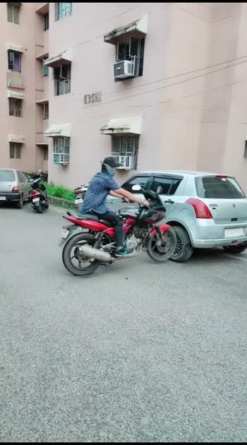 damage #roposo #bike-stunt #roposlove