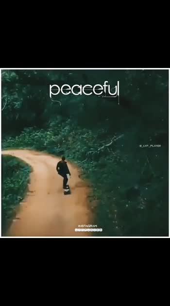 peaceful....
