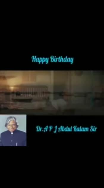 #abjabdulkalam #happybirthday