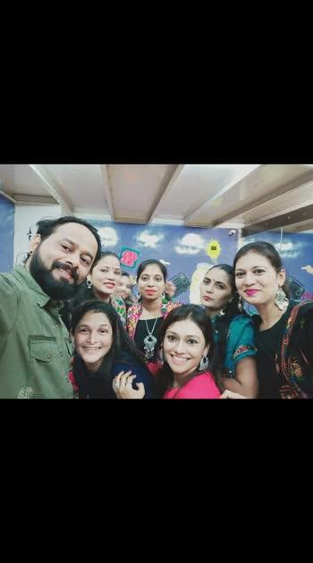 #Garba with #Vivek #Ganjawala @ #TALENT #Studio 2019