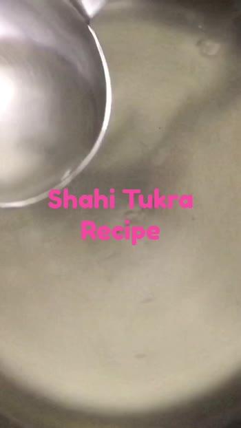 Shahi Tukra Recipe #LoveForFood #SnackTime #RoyalTaste #TasteOfInida #TraditionalIndianFood  @roposoindiaofficial