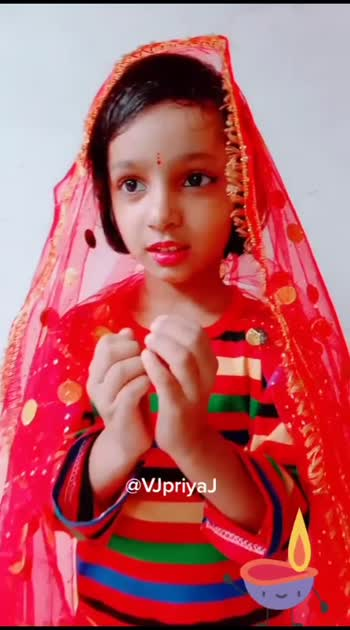 #karwachauth #karwachauth2019 #karwachauthstatus #kidswear #kidstalent #roposo #vjpriyaj @roposocontests