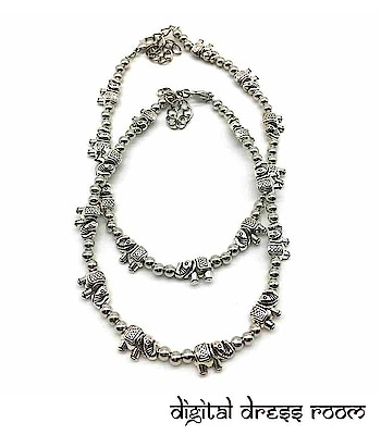 Silver Elephant and Beads Payal Anklet❤ Item code:(🔎1402NP44-555) Purchase from our website - https://digitaldressroom.com/collections/anklet #anklet #anklets #payal #silver #silveranklets #silverpayal #Designeranklet #Designerpayal #jewellery #germansilveranklets #oxidizedanklets #oxidizedpayal #germananklets #germanpayal #oxidizedjewellery #oxidizedjewelry #artificialjewellery #jewellerylove #indianjewellery #traditionaljewellery #imitationjewellery #indianjewellery #fashionjewellery #bridelwear #brideljewellery #indianwear #mangalsutra #ankletlove #ankletlovers